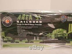 Lionel 6-30206 AREA 51 RAILROAD READY-TO-RUN TRAIN SET / C-10+ HARD TO FIND