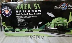 Lionel #6-30206 Area 51 Railroad Ready-To-Run Train Set Alien O Gauge RS3 Diesel