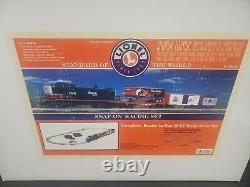 Lionel 6-31922 SNAP-ON RACING SET READY TO RUN O-27 Scake Train Set NIB