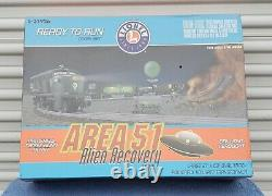Lionel #6-31926 Area 51 Alien Recovery Ready to Run Train Set
