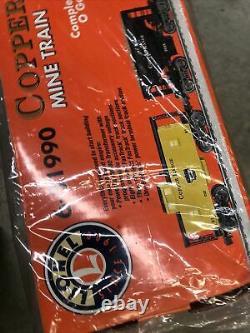 Lionel 6-31990 Copper Range Mine Train Set Ready-to Run Factory Sealed New