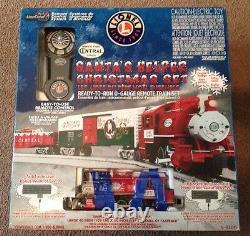 Lionel 6-82545 Santa's Helper LionChief Docksider Christmas set ready-to-run