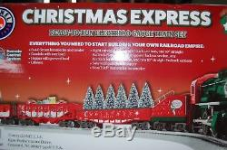 Lionel 6-82982 Christmas Express Ready-to-Run Train Set Lion Chief/Bluetooth