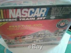 Lionel 7-11004 Nascar Ready To Run Electric Train Set Factory Sealed