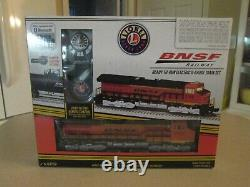 Lionel BNSF Tier 4 Modern Freight Lion Chief Ready To Run O Scale train set