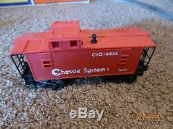 Lionel Chessie Flyer Steam Engine 5 Cars O-27 Gauge Train Set Ready To Run