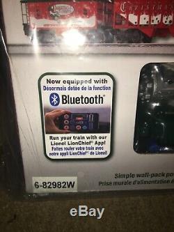 Lionel Christmas Express Train Set Ready-To-Run Electric O-Gauge BlueTooth NIB