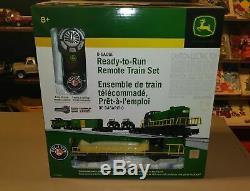Lionel John Deere Ready to Run Train Set