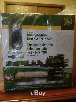 Lionel John Deere ready to run sealed train set 6-81480