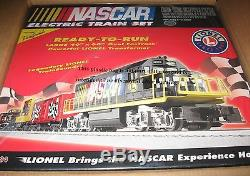 Lionel New 7-11004 NASCAR Ready-To-Run train set