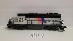 Lionel O-27 NJ Transit Diesel Engine Ready to Run Set with Track Power 6-11828