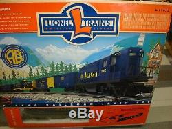 Lionel O GAUGE No. 6-11972 Alaska RR Ready-To-Run Diesel Freight Train SetNEW
