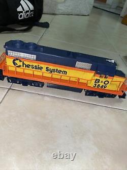 Lionel O Gauge Train Chessie Diesel Freight Set-Complete-Ready To Run