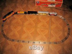 Lionel O Gauge Train Chessie Diesel Freight Set-Complete-Ready To Run #6-31915