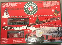 Lionel O/O27 Gauge 6-21944 Ready To Run Christmas Set Tested