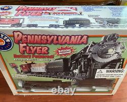 Lionel Pennsylvania Flyer Battery Powered Remote Ready to Run G Gauge Train Set