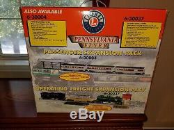 Lionel Pennsylvania Flyer Train Set 6-30018 Ready To Run 4-4-2 Steam Loco. #1645