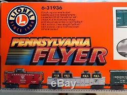 Lionel Pennsylvania Flyer Train Set 6-31936 Ready To Run Kids To Adults