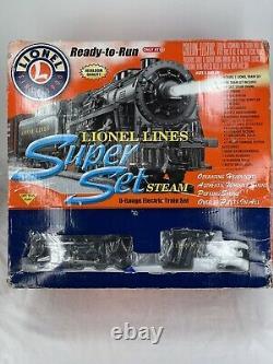 Lionel Ready To Run Train Set Lionel Lines Super Set 7-11027 Condition C-9
