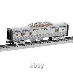 Lionel Santa Fe Add-On Vista Dome Train Ready-to-Run Super Chief Set (Open Box)
