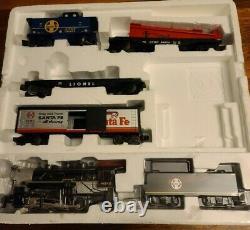 Lionel Santa Fe Flyer Freight Train Set Ready to Run O-Gauge Electric Train Set