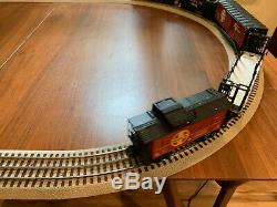 Lionel Santa Fe Flyer Ready to Run O-Gauge Train Set 6-31958 WITH RAILSOUNDS