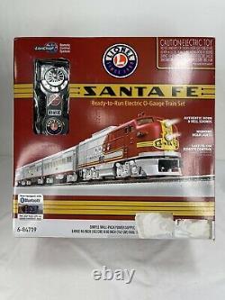Lionel Santa Fe Super Chief Lionchief Ready to Run Train Set with Bluetooth