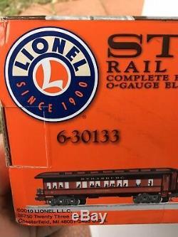 Lionel Strasburg Rail Road Steam Passenger Set NEW in Box Ready To Run Train Set