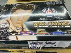 Lionel Train Set 6-31728 Elvis Presley Train Set Ready To Run