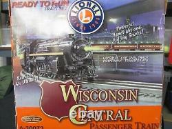 Lionel Wisconsin Central Passenger Train Ready to Run O gauge Train set 6-30072