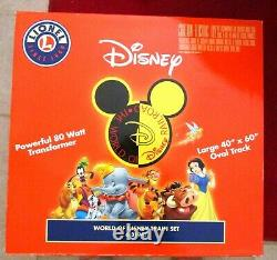 Lionel World of Disney Train 6-31947 O Gauge Ready to Run Train Set Mickey Mouse