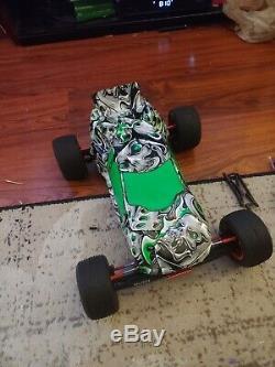 Losi XXX-T Matt Francis Graphite XXX-T RC Truck Ready to Run brushless set up