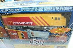 MTH 30-4042-1 McDonalds Fast Freight PS 2.0 Ready to Run Train Set