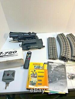 MTH Rail King O Scale Union Pacific 2-8-0 with Tender and Track Set Ready to Run