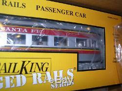 MTH Railking O Gauge Santa Fe Ready To Run Train Set