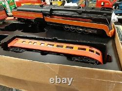 MTH Railking Ready To Run Southern Pacific 4-8-4 Daylight Passenger set