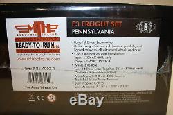 MTH Ready To Run Set Pennsylvania F3 Freight Set Sealed New Proto 3 Sound