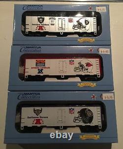 Mantua Super Bowl Express Ready to Run Train Set NFL Certified First Edition