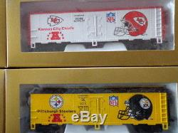 Mantua Super Bowl Express Ready-to-run Train Set NFL Certified First Edition