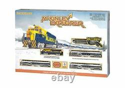 McKinley Explorer Ready To Run Electric Passenger Train Set N Scale