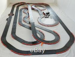 Mega 66.8' AFX Tomy Giant Raceway Track Slot Car Set, 4' x 8' Ready To RUN