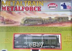 Model Power Metal Train Ready to Run All Metal Train Set No. 830 DCC ready