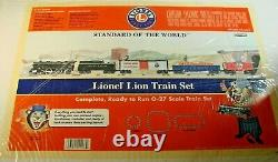 NEW Lionel Lion Ready To Run Train Set 11006 QVC Limited Edition 027 Steam 1/500