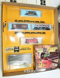 NOS Vintage Atlas Ready To Run Train Set 86 364 N Gauge Santa Fe 2186 Switcher