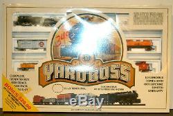 NOS Vintage Bachmann Yard Boss N Scale Train Set #4262 Complete Ready to Run