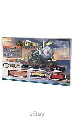 New Bachmann Trains Chattanooga Ready To Run 155 Piece Electric Train Set