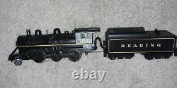 O Gauge MTH Railking Ready to Run 2-6-0 Steam Reading RR Set with Whistle & Bell
