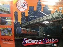 O-MTH-RAIL-KING-NY-YANKEE-MET-SUBWAY-SERIES-SETS-MTA-READY-TO-RUN-W-Sound-NISB