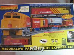 O scale RailKing-MTH ready to run McDonalds train set EXCELLENT CONDITION with box