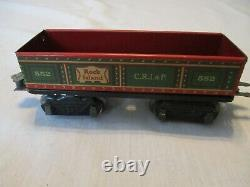 Pre-war Louis Marx Electric Train Set. Complete & Ready To Run Set. Excellent Co